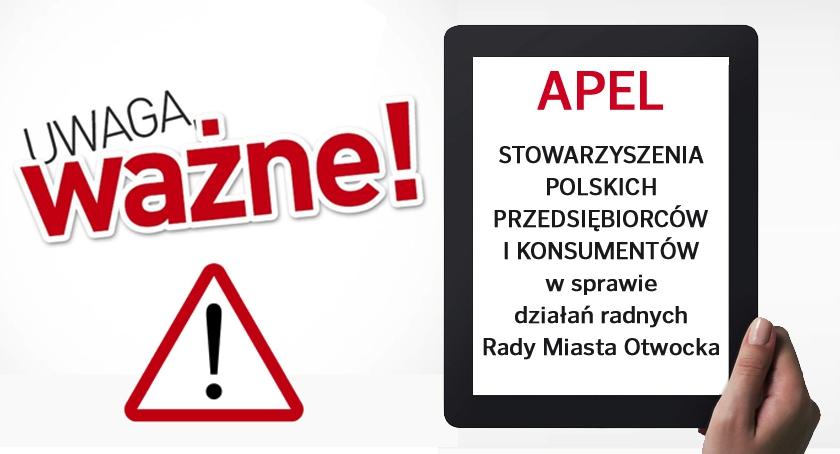 Apel Stowarzyszenia Polskich Przedsiębiorców i Konsumentów