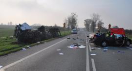 Dwie ofiary ostatnich wypadków na powiatowych drogach