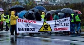 Deszczowy protest