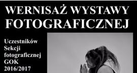 Wernisaż wystawy prac Sekcji fotograficznej GOK