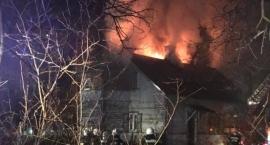 Pożar przy ul. Orzeszkowej